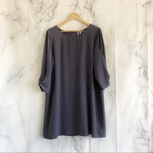 LC Lauren Conrad purple xlarge dress long sleeve